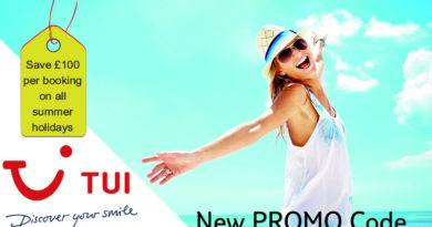 tui escape promo code