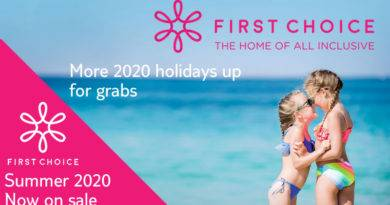 first choice 2020 summer holidays