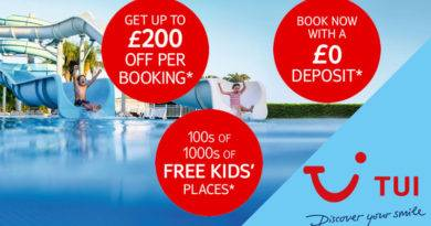 tui 2020 summer deals