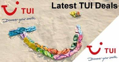Latest TUI Deals