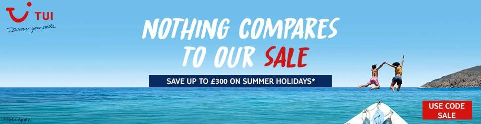 TUI Offers sale