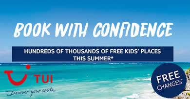 TUI Free Child Places